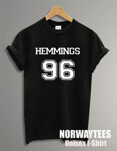 HEMMINGS 96 Luke Hemmings Unisex Shirt Fashion by Norwaytees