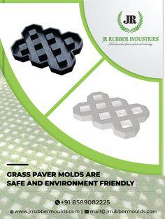 Concrete Block Walls, Concrete Paving, Concrete Molds, Concrete Crafts, Concrete Garden, Grass Pavers, Gravel Driveway, Driveway Landscaping, Rubber Industry