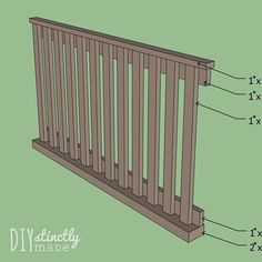 Since we found out we were pregnant (maybe even before), we knew we wanted to build our baby's crib. Would it be safe enough? Baby Crib Diy, Baby Room Diy, Baby Cribs, Baby Boy, All Modern Furniture, Baby Furniture, Children Furniture, Furniture Ideas, Steel Furniture