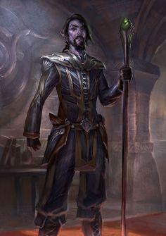 Dark Elf concept from Elder Scrolls Online.