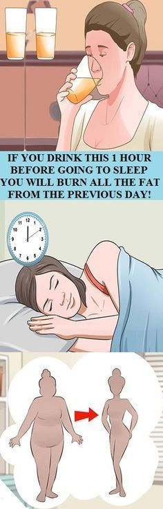 IF YOU DRINK THIS 1 HOUR BEFORE GOING TO SLEEP YOU WILL BURN ALL THE FAT FROM THE PREVIOUS DAY! | HEALTHYLIFE