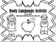 social skill, languages, slp, speech therapi, languag freebi, pragmat, bodi languag, speechi freebi, speechi stuff