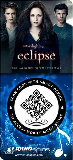 Twilight - Eclipse - Original Motion Picture Soundtrack - Liquid Spins spincode