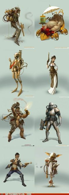 Steampunk Star Wars. by Artist Bjorn Hurri
