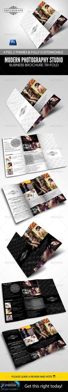 Modern Photography Studio Tri-Fold Brochure
