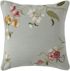 Showcase for high end bedings and pillows, cushion covers Pillow Embroidery, Hand Embroidery Dress, Embroidered Cushions, Hand Embroidery Designs, Ribbon Embroidery, Floral Embroidery, Embroidery Stitches, Embroidery Patterns, Diy Pillows