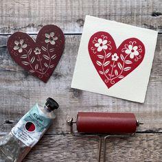Lino Art, Art Tutor, Stamp Carving, Seal Design, Handmade Stamps, Linoprint, Linocut Prints, Grafik Design, Printmaking