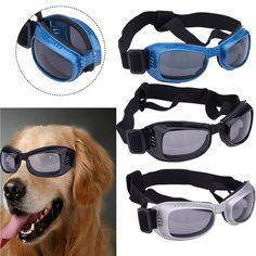 Fashion Dog Sunglasses Doggles Goggles UV Eye Protection Glasses Pet Cool Stylish Waterproof Eyewear Grooming Accessories 2016 // Worldwide FREE Shipping //     #petsupplies
