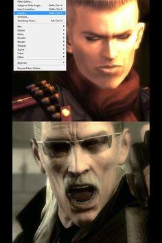 So that's how Ocelot became Liquid's doppelganger.. #MetalGearSolid #mgs #MGSV #MetalGear #Konami #cosplay #PS4 #game #MGSVTPP