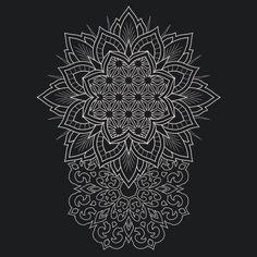 46 Ideas tattoo arm sleeve geometric mandalas for 2019 Tatoo Art, Cat Tattoo, Body Art Tattoos, Trendy Tattoos, Tattoos For Guys, Blackwork, Tattoo Muster, Tattoo Hals, Tattoo Neck