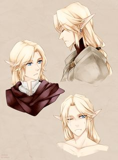 The Legend of Zelda / ゼルダの伝説 The Legend Of Zelda, Legend Of Zelda Breath, Anime Elf, Manga Anime, Anime Guys, Anime Guy Long Hair, Ben Drowned, Character Inspiration, Character Art