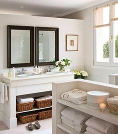 Baños con sitio para guardar · ElMueble.com · Cocinas y baños                                                                                                                                                     Más