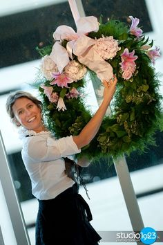 #dillylily Garden altar wreath for the holidays!