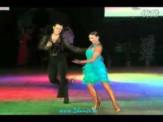 "http://www.dancemothers.com/ [Cha Cha] Slavik Kryklyvyy & Anna Melnikova Dance - ""Love Potion #9"" - 2010-- What a couple!"