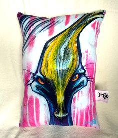 Cassowary pillow! by mattseefelt on Etsy