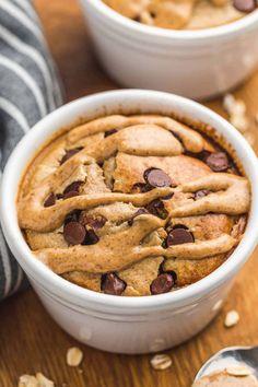 Healthy Cake, Healthy Sweets, Healthy Baking, Breakfast Cake, Breakfast Recipes, Dessert Recipes, Baked Oats, Oatmeal Recipes, Cooker Recipes