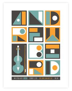 Andrew Bird limited edition print.
