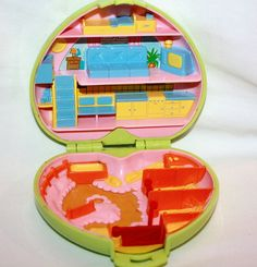 1989...Polly Pocket PONY CLUB Compact by Pooyabee on Etsy