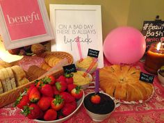 Beauty Bash - girlie party ideas!