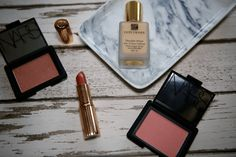 Some of my favourite make up which makes me happy including Nars, Estee Lauder and Charlotte Tilbury