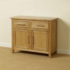 Harold Solid Oak Small Sideboard Dining Room Furniture in Home, Furniture & DIY, Furniture, Sideboards, Buffets & Trolleys   eBay