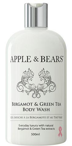 Apple & Bears Bergamot & Green Tea Body Wash - 500ml