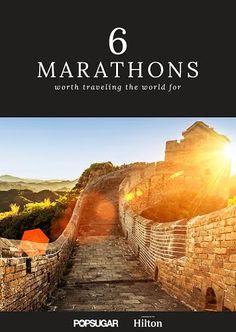 The most stunning marathons you'll ever run.