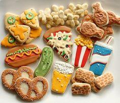 Snack Attack Cookies by SweetSugarBelle, via Flickr