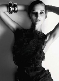 Back in Black | Suzanne Diaz | Nico #photography | Marie Claire US May 2012