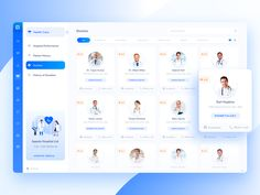 Doctor Search designed by Moinul Ahsan for Devloon. Connect with them on Dribbble; Web Ui Design, Dashboard Design, Design Layouts, Flat Design, Design Design, Graphic Design, Doctor Search, Health Care Hospital, Ui Web