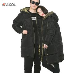 44.69$  Buy here - vancol 2016 russia thickness woman winter coats and jackets hooded unisex black women parka men abrigos mujer female winter jack   #magazine