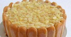 Tradičná obľúbená torta ktorej základom sú piškóty. Torta Malakov (Malakoff) má veľa receptúr a my vám ponúkame jeden z tých najlepších. Apple Pie, Food, Pastries, Mascarpone, Essen, Meals, Yemek, Apple Pie Cake, Eten