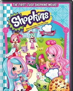 Shopkins Chef Club movie coming out on DVD on October 25! #shopkins #shopkinsmovie
