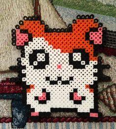 Hamtaro perler beads by MulletLicker on deviantART