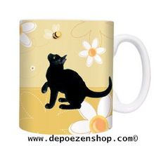 Mugs with cats in The Cat Shop  www.depoezenshop.com