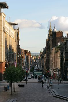 Buchanan Street, Glasgow, Scotland Copyright: Linards Ivars