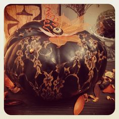 Pumkin samhain decoration made in France