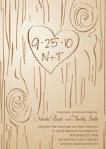 tree carving invite