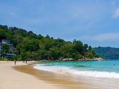 In Phuket- Kata Noi Beach Karon, Thailand Trip Ideas water sky Beach Nature shore Sea Ocean Coast caribbean wind wave tropics wave Island cape cove swimming day sandy (article- best beaches)