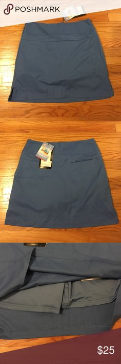 NWT New adidas Clima Cool Golf Skort size 6 NWT New adidas Clima Cool Golf Skort size 6. Measures 16.25 inches in length. Bought for more golf game and well you can guess how it went 🤷🏼♀️ Adidas Skirts Mini