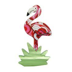 Flamboyant Flamingo Funk Flamingo Brooch