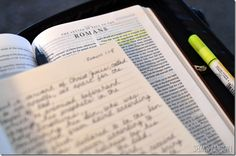 Journibles for Bible study