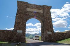 North Gate, Yellowstone National Park (by Brian Landis)