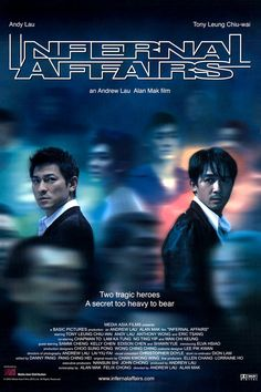 Infernal Affairs The Departed is a remake of this movie. It's actually a part of a trilogy. Great movie.