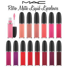 MAC Retro Matte Liquid Lipcolours (review)