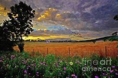 Take Me Home   Artist  Lianne Schneider  #countrylife #beautifulscenery #landscapeart #lianneschneider