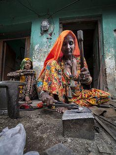 Woman Blacksmith
