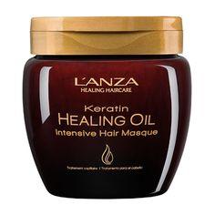 Lanza keratin Healing Oil Intesive Hair Masque 210ml - Nikkey Cosmeticos                                                                                                                                                                                 Mais