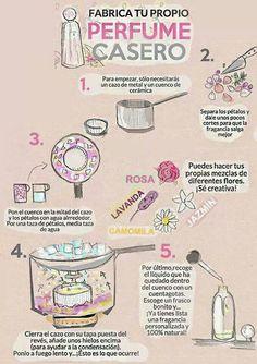 Como hacer un agua floral casera