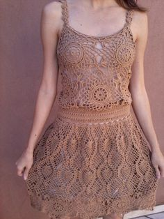 Vestido de Croche - Princesa Pê